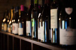 interno osteria da beppe i nostri vini bianchi, rossi e bolle