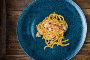 passatelli con i gamberi ricetta romagnola di beppe